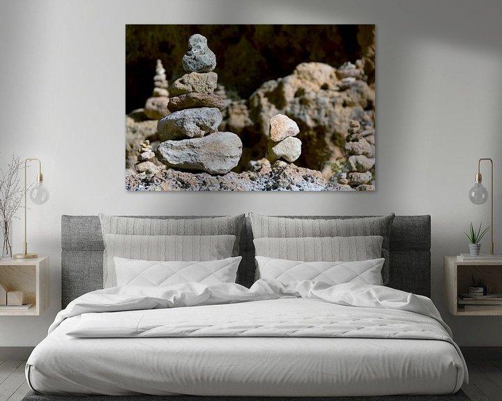 Sfeerimpressie: Zen stenen van Ton de Koning