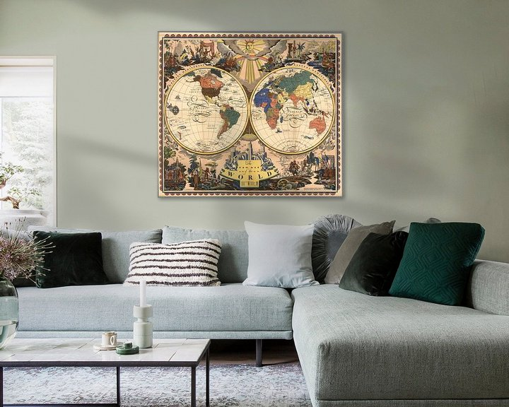 Sfeerimpressie: The New Map of the World.