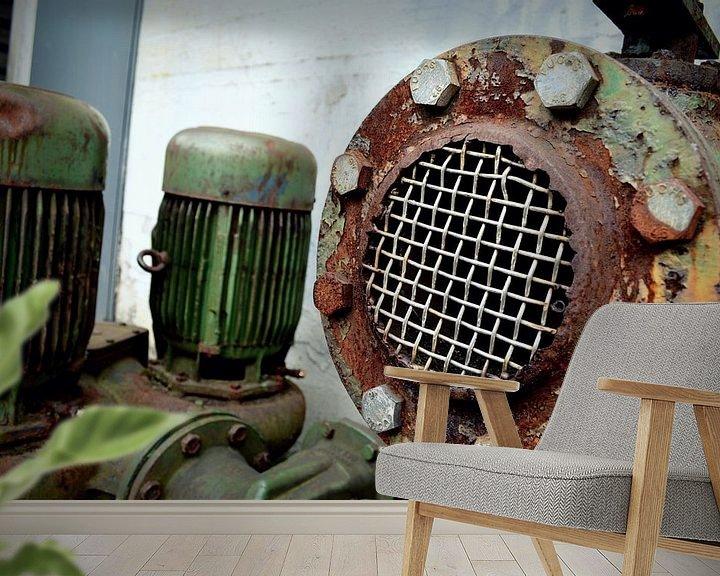 Beispiel fototapete: Oude machine von Nicole de Leest