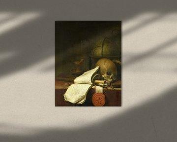 Vanitas-Stillleben, Pieter Symonsz. Potter