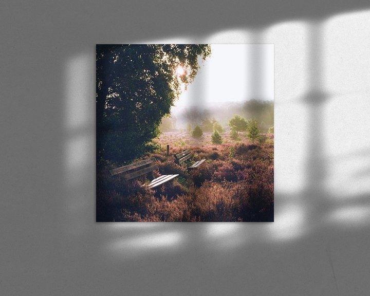 Sfeerimpressie: Rustige zonsopkomst op de Veluwe van Wahid Fayumzadah