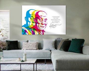 Dalai Lama Quote van Harry Hadders