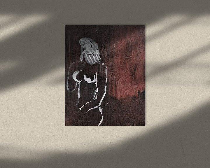 Impression: Nude sur Jose Beumers