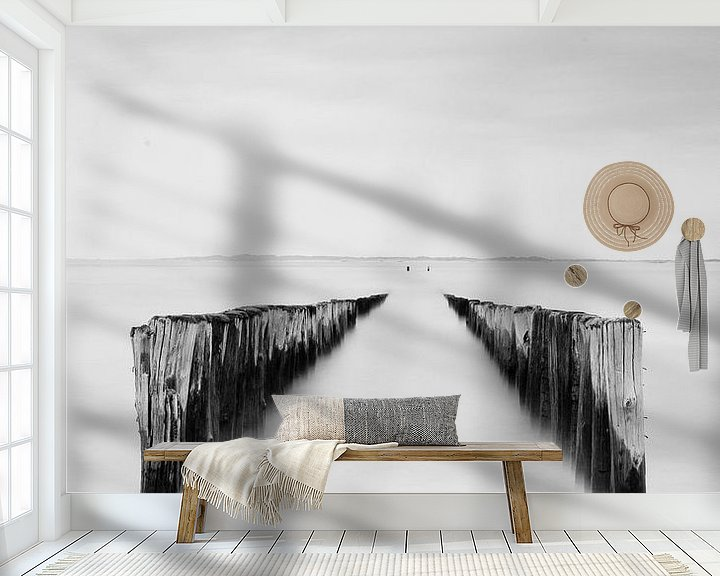 Sfeerimpressie behang: Breskens van Steven Hendrix
