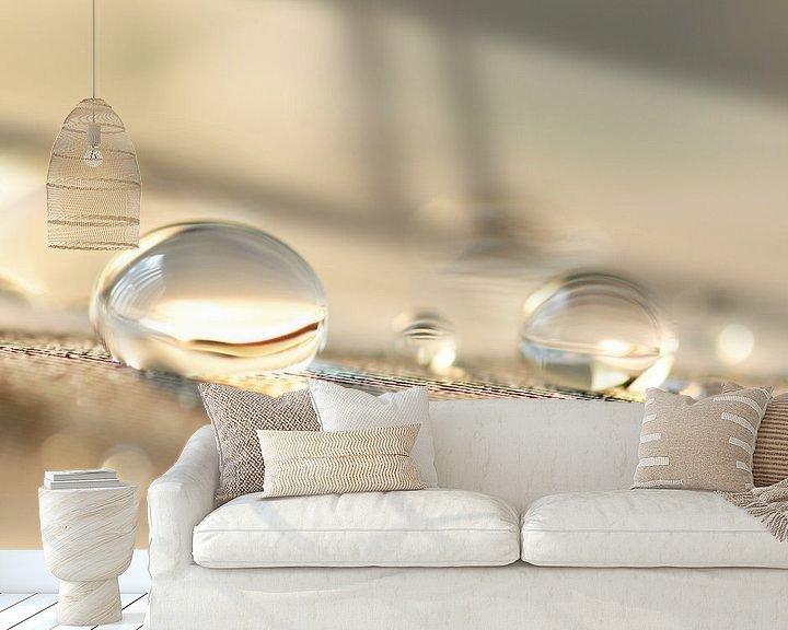 Sfeerimpressie behang: Bubble fun van Carla Mesken-Dijkhoff
