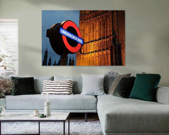 Impression: Londen, underground sur Rene Mensen