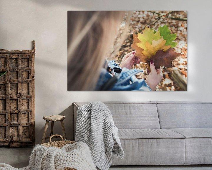Sfeerimpressie: Herfstblaadjes van Perry Wiertz