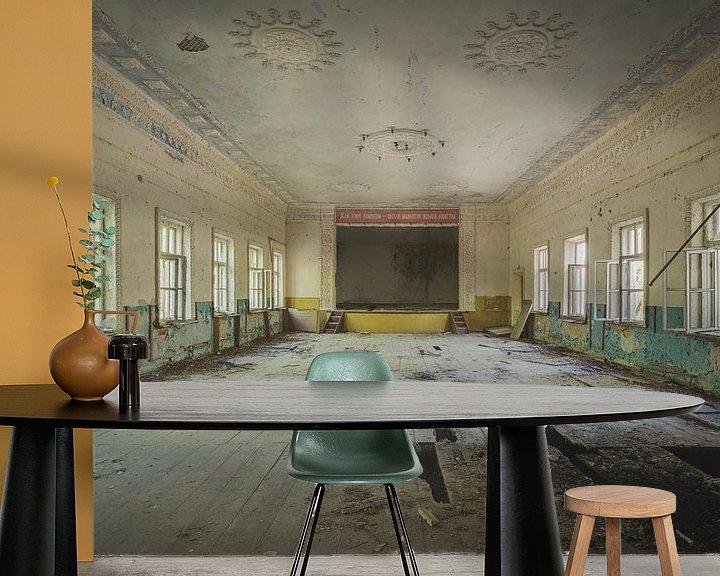 Sfeerimpressie behang: Buurthuis Tsjernobyl van Perry Wiertz