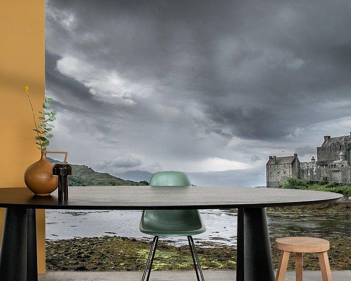 Sfeerimpressie behang: Schots kasteel van Chantal Nederstigt