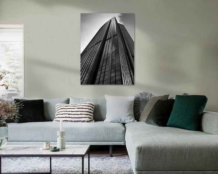 Sfeerimpressie: Wolkenkrabber van Chantal Nederstigt