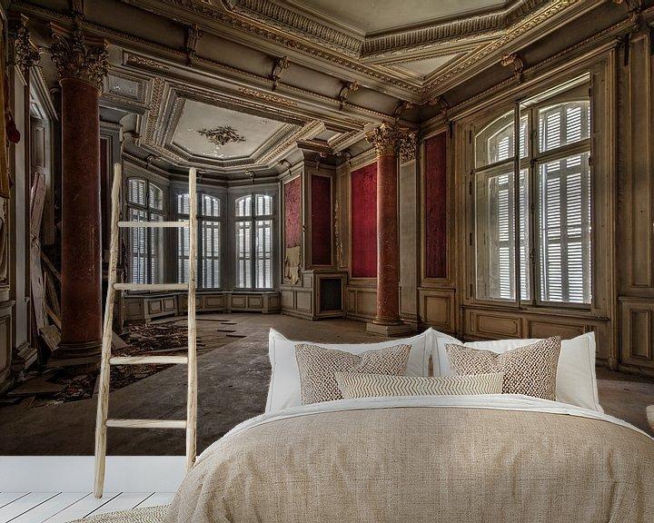 Sfeerimpressie behang: Vroegere elegantie van Chantal Nederstigt