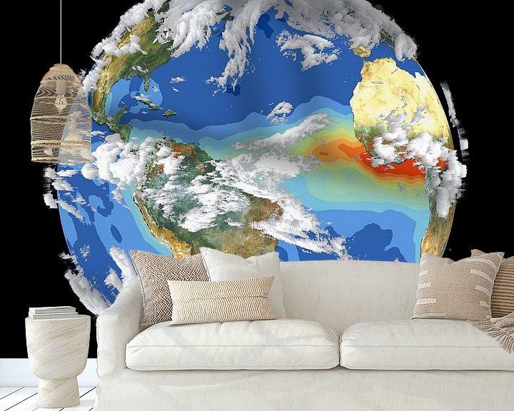 Sfeerimpressie behang: De Aarde en Het Klimaat van Digital Universe