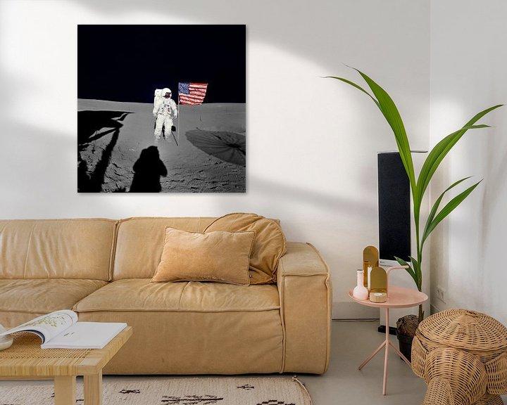 Sfeerimpressie: Astronaut Edgar D. Mitchell van Digital Universe