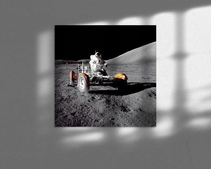 Impression: Astronaute dans le Rover sur Digital Universe