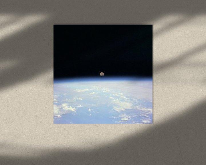 Sfeerimpressie: Maan Achter de Aarde van Digital Universe