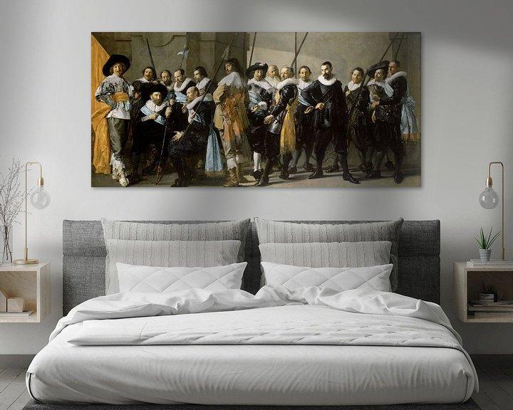 Beispiel: Die magere Kompanie, Frans Hals