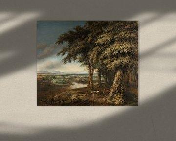 Philips Koninck, De ingang tot het bos