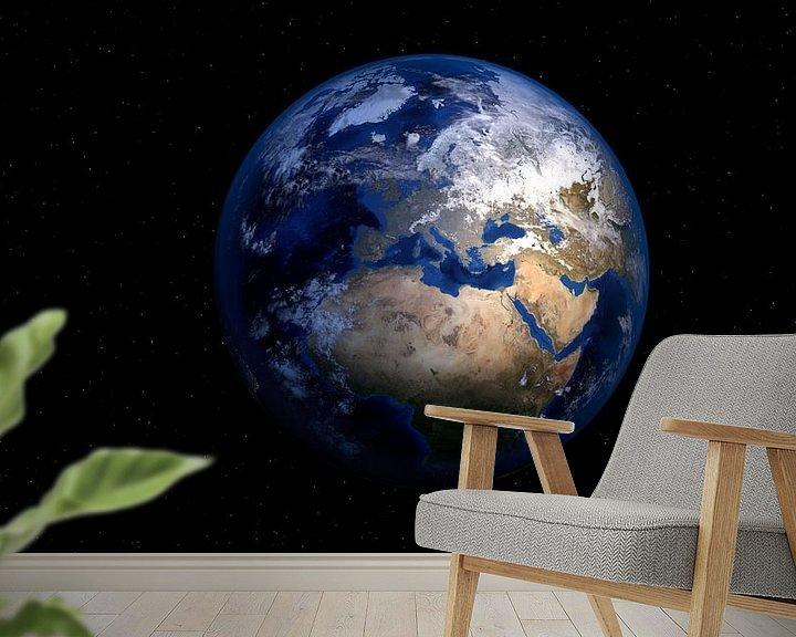 Impression: Illumination de la Terre sur Digital Universe