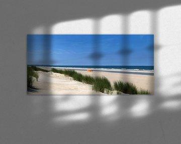 Duinen van het Noordzee strand van Karin vd Waal