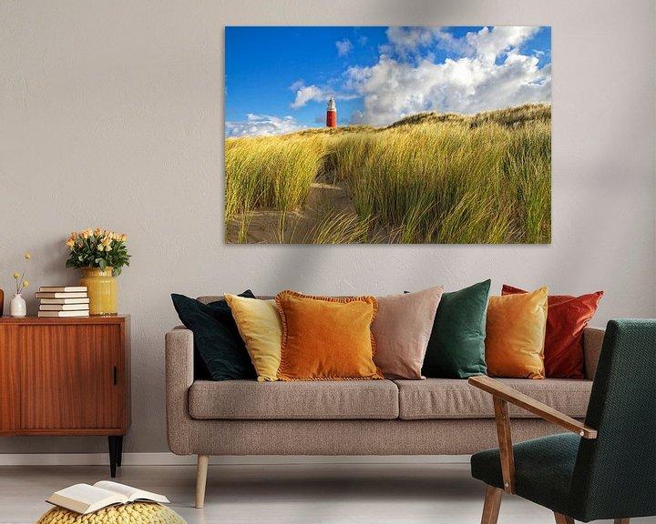 Sfeerimpressie: Vuurtoren van Texel / Texel Lighthouse van Justin Sinner Pictures ( Fotograaf op Texel)