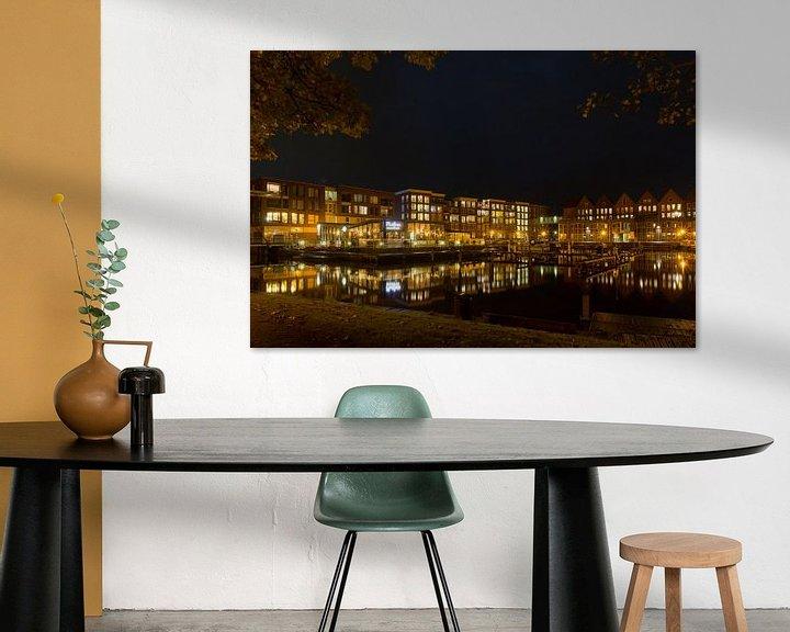 Sfeerimpressie: Stadshaven van Appingedam van Arline Photography