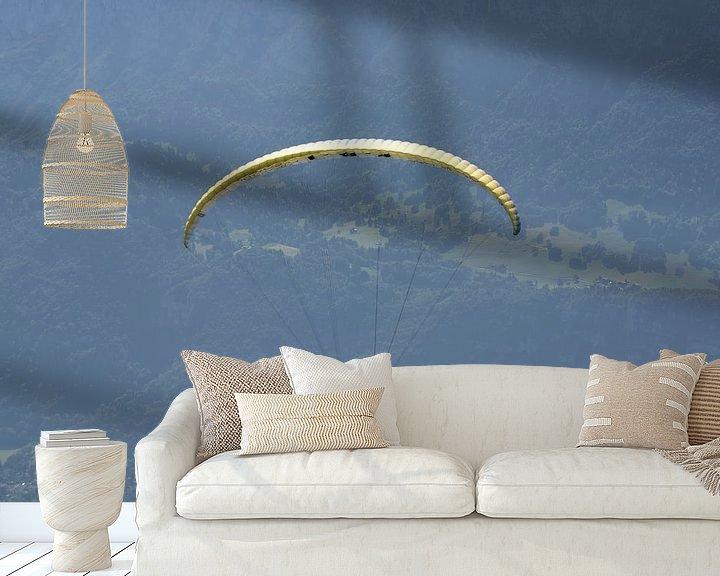 Sfeerimpressie behang: Zweven in de lucht van Barbara Brolsma