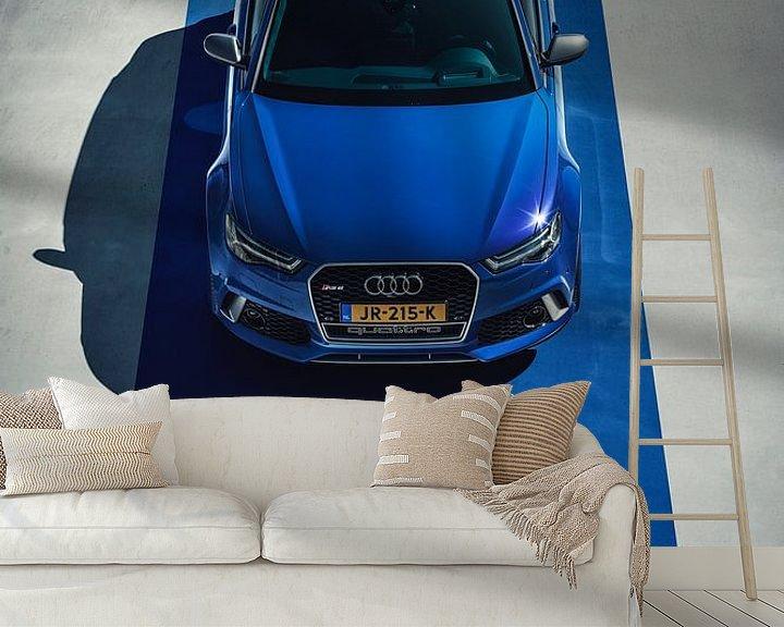 Sfeerimpressie behang: Audi RS6 Performance van Gijs Spierings