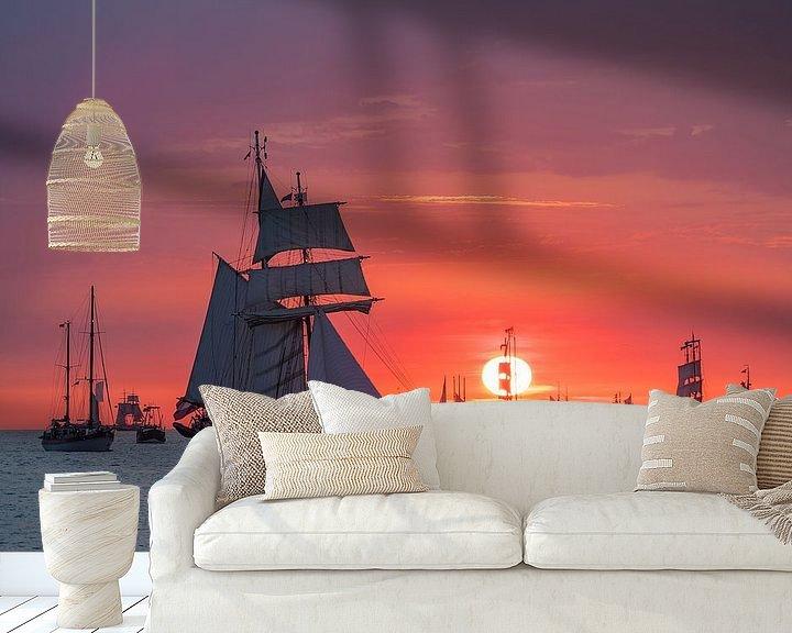 Impression: Segelschiffe auf der Hanse Sail in Rostock sur Rico Ködder