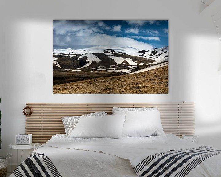 Sfeerimpressie: De bergen van Zuid-IJsland I van Ronne Vinkx
