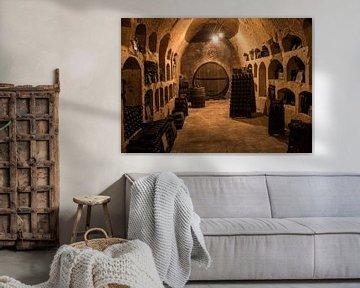 Oude Champagne kelders bij Castellana van Daan Kloeg