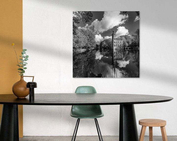 Sfeerimpressie: Kasteel Bouvigne Breda in zwart-wit van JPWFoto