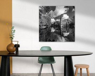Kasteel Bouvigne Breda in zwart-wit von JPWFoto
