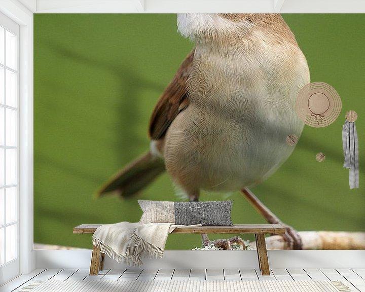 Beispiel fototapete: Grasmus von Astrid Brouwers