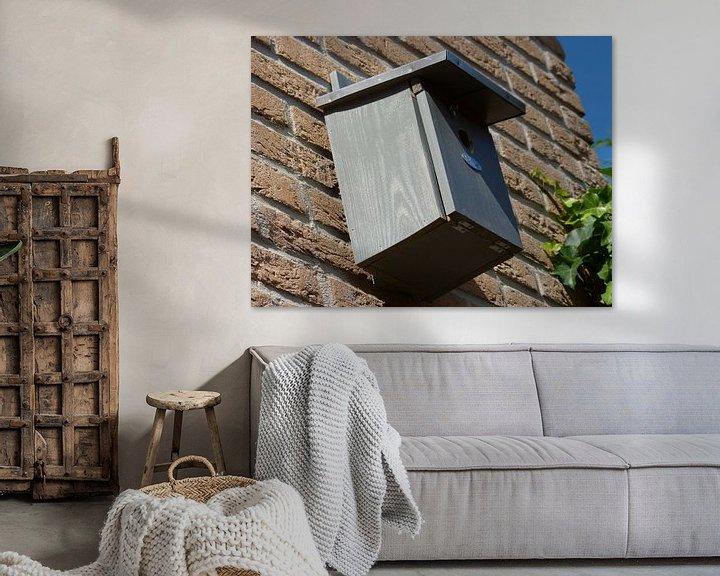 Sfeerimpressie: Vogelhuis in de achtertuin van Wilbert Van Veldhuizen