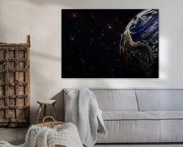 Aarde en Sterren van Digital Universe