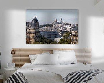 De Basiliek van Sacré-Coeur in Parijs van MS Fotografie | Marc van der Stelt