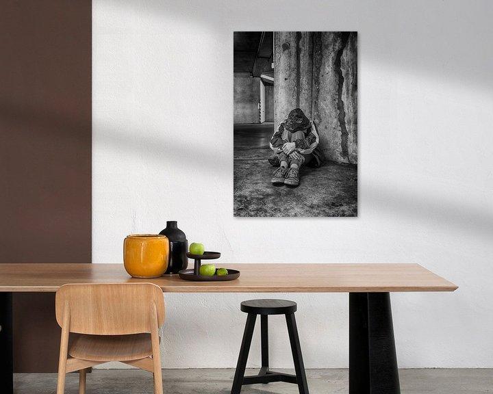 Sfeerimpressie: Eenzaam... van Filip Boogaerts