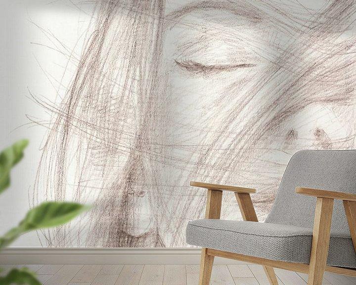Sfeerimpressie behang: Vrijheid van ART Eva Maria