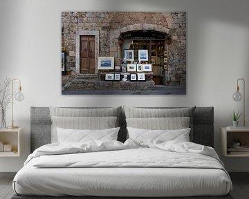 Kunstwinkel Italië van Ronald Jansen