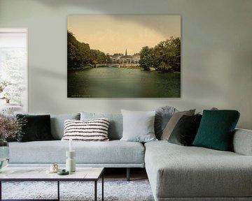 Binnen Amstel, Amsterdam van Vintage Afbeeldingen