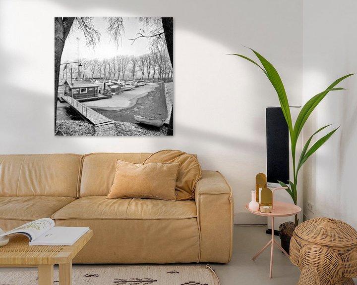 Sfeerimpressie: Wantijhaven 1968 Dordrecht van Dordrecht van Vroeger