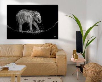 water olifantje von Jiske Wijmans @Artistieke Fotografie