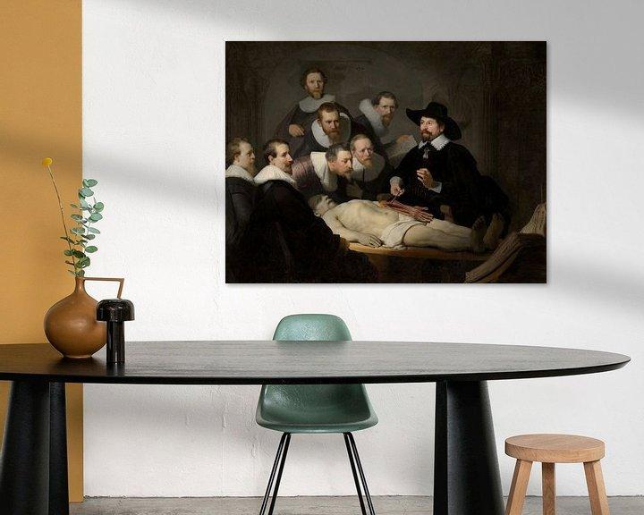 Sfeerimpressie: Rembrandt van Rijn, De anatomische les van Dr Nicolaes Tulp