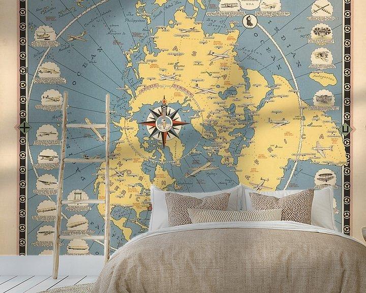 Impression: La carte de l'histoire de voler sur World Maps