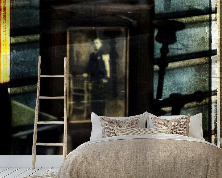 Sfeerimpressie behang: Brocante van sophie etchart