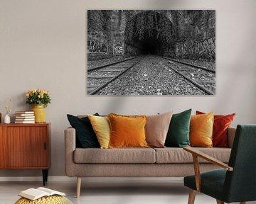 Die verlassene Eisenbahn in Paris von MS Fotografie | Marc van der Stelt