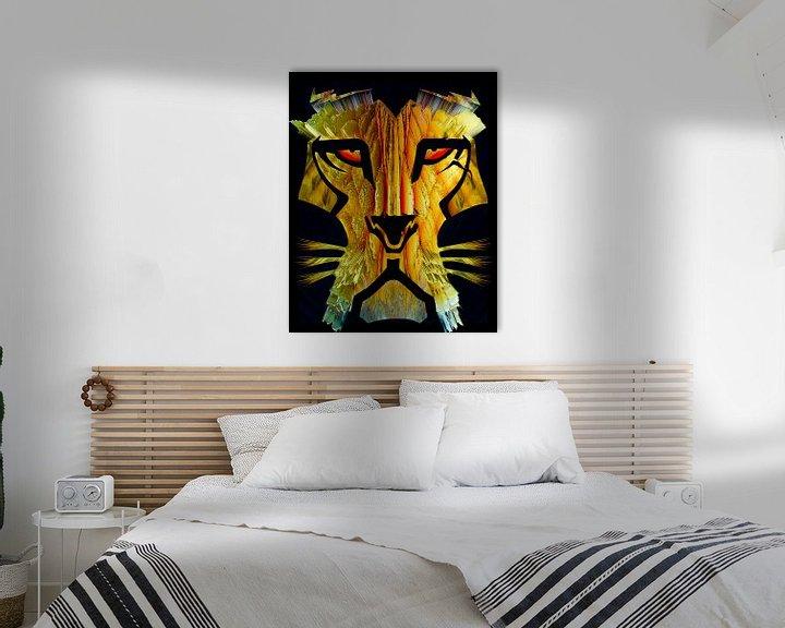 Beispiel: Löwe von Holger Debek