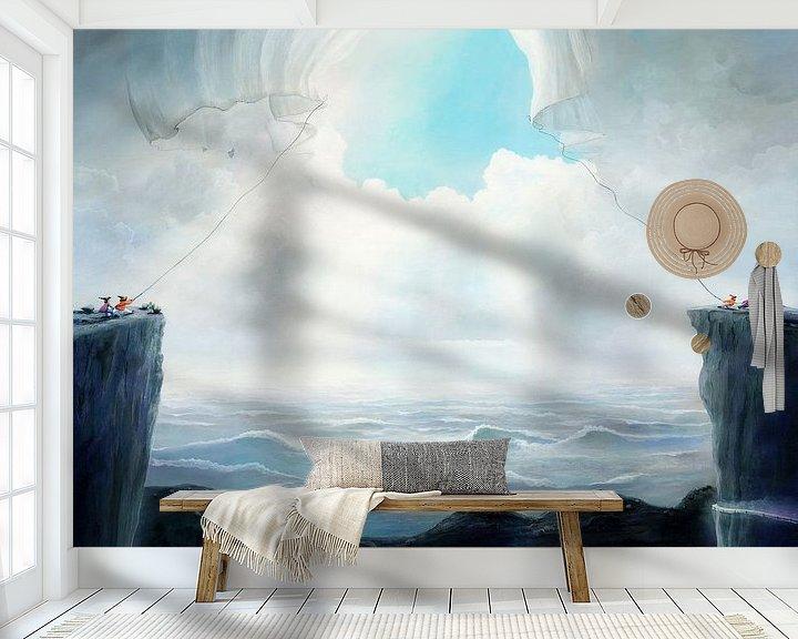Sfeerimpressie behang: Opening van de lucht van Art Demo