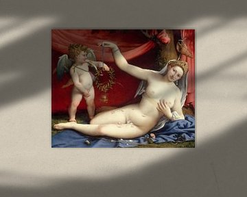 Venus und Amor, Lorenzo Lotto