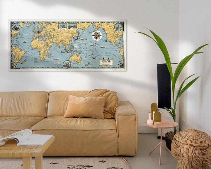 Impression: Total War, carte de bataille mondiale sur World Maps